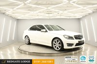 USED 2014 14 MERCEDES-BENZ C-CLASS 2.1 C220 CDI AMG SPORT EDITION PREMIUM 4d 168 BHP SAT/NAV, HEATED LEATHER, BLUETOOTH, TINTED GLASS, FRESHLY POWDER COATED ALLOYS