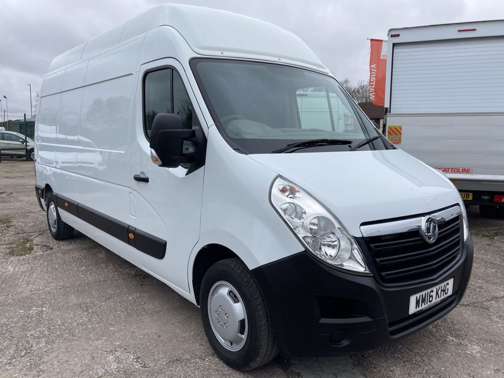 USED 2016 16 VAUXHALL MOVANO 2.3 F3500 L3H3 P/V CDTI 134 BHP REAR RAMP AIR CON SAT NAV FREE WARRANTY INCLUDING RECOVERY AND ASSIST NEW MOT AIR CONDITIONING SATELLITE NAVIGATION REAR RAMP