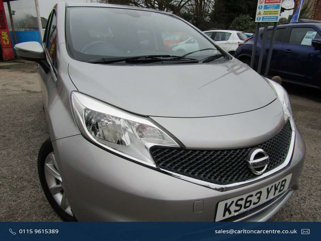 USED 2014 63 NISSAN NOTE 1.2 ACENTA PREMIUM DIG-S 5d 98 BHP A well maintained car ** Sat Nav Blue tooth ** nil tax ** higher driving position ** Economical ** P/X welcome ** low deposit Flexible finance**Delivery possible **