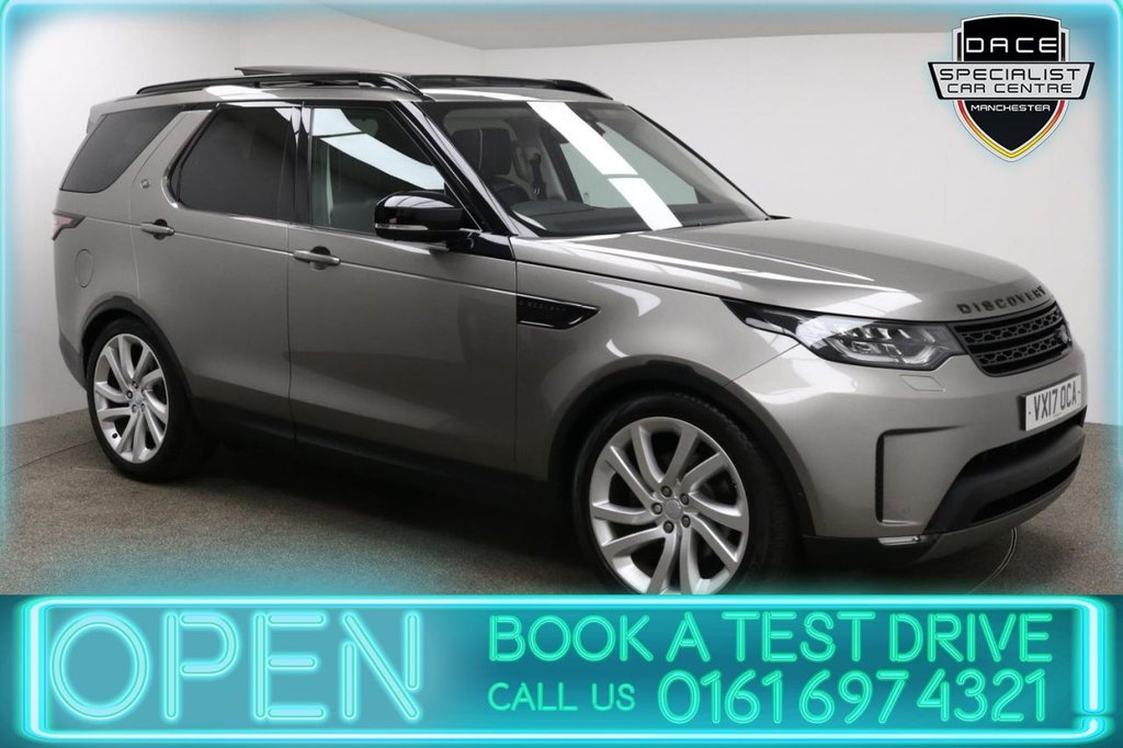 USED 2017 17 LAND ROVER DISCOVERY 3.0 TD6 FIRST EDITION 5d AUTO 255 BHP