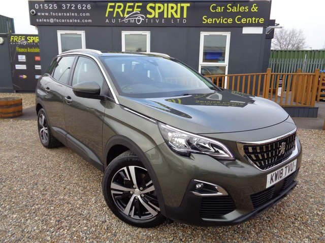 USED 2018 18 PEUGEOT 3008 1.2 PureTech Active (s/s) 5dr Apple/Android  Play, Bluetooth