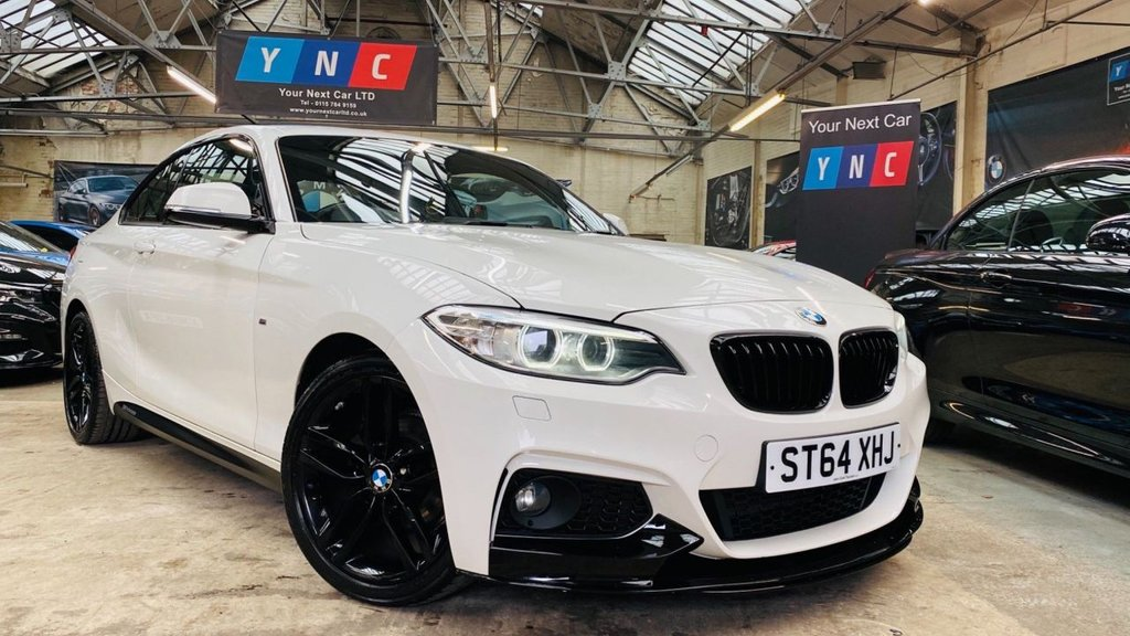 USED 2015 64 BMW 2 SERIES 2.0 218d M Sport (s/s) 2dr PERFORMANCEKIT+XENONS+18S