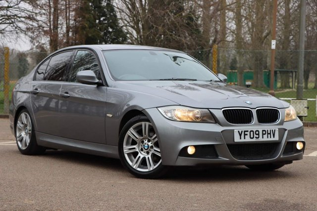 USED 2009 09 BMW 3 SERIES 2.0 318d M Sport 4dr LOW MILEAGE+AUTOMATIC