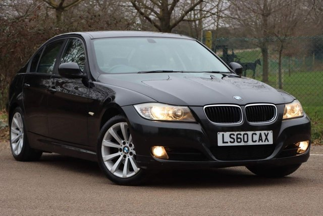 USED 2010 60 BMW 3 SERIES 2.0 320d SE Business Edition 4dr NAVIGATION+FULL LEATHER