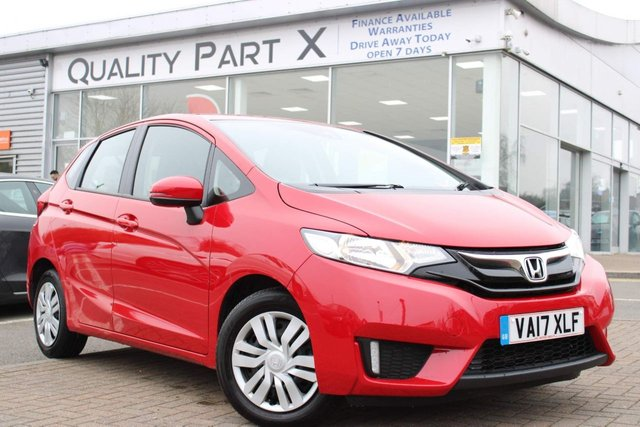 USED 2017 17 HONDA JAZZ 1.3 i-VTEC S (s/s) 5dr BLUETOOTH, AUX, HPI CLEAR