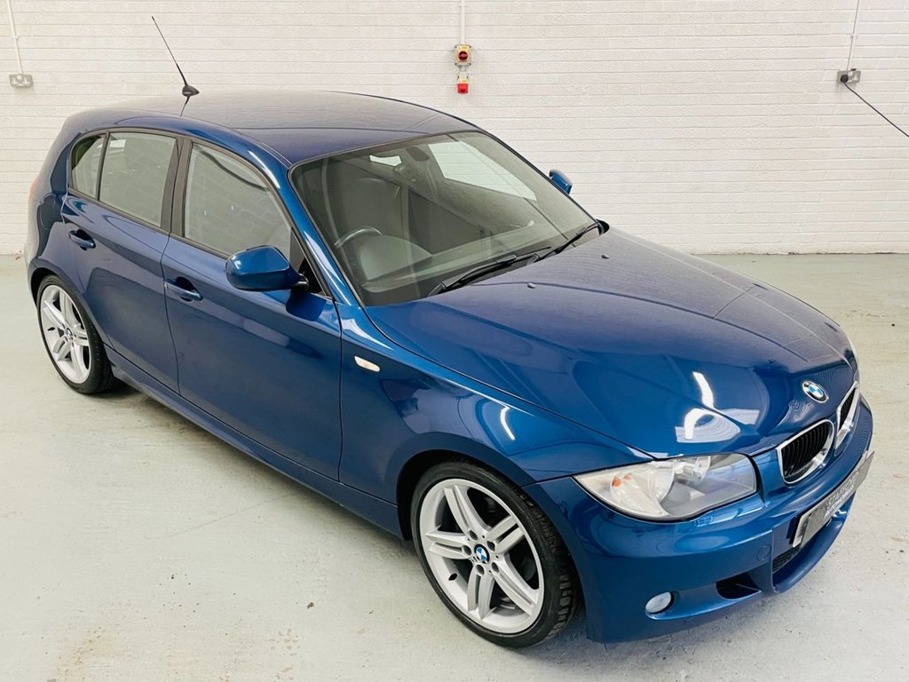 USED 2010 60 BMW 1 SERIES 2.0 118D M SPORT 5d 141 BHP 18IN ALLOYS, LOW MILES, PDC, £30 TAX! FINANCE AVAILABLE