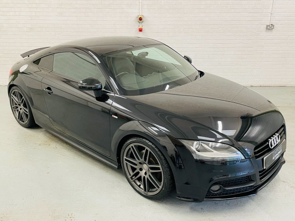 USED 2011 61 AUDI TT 2.0 TFSI BLACK EDITION 2d 208 BHP HEATED SEATS, BOSE, 19IN ALLOYS, FINANCE AVAILABLE