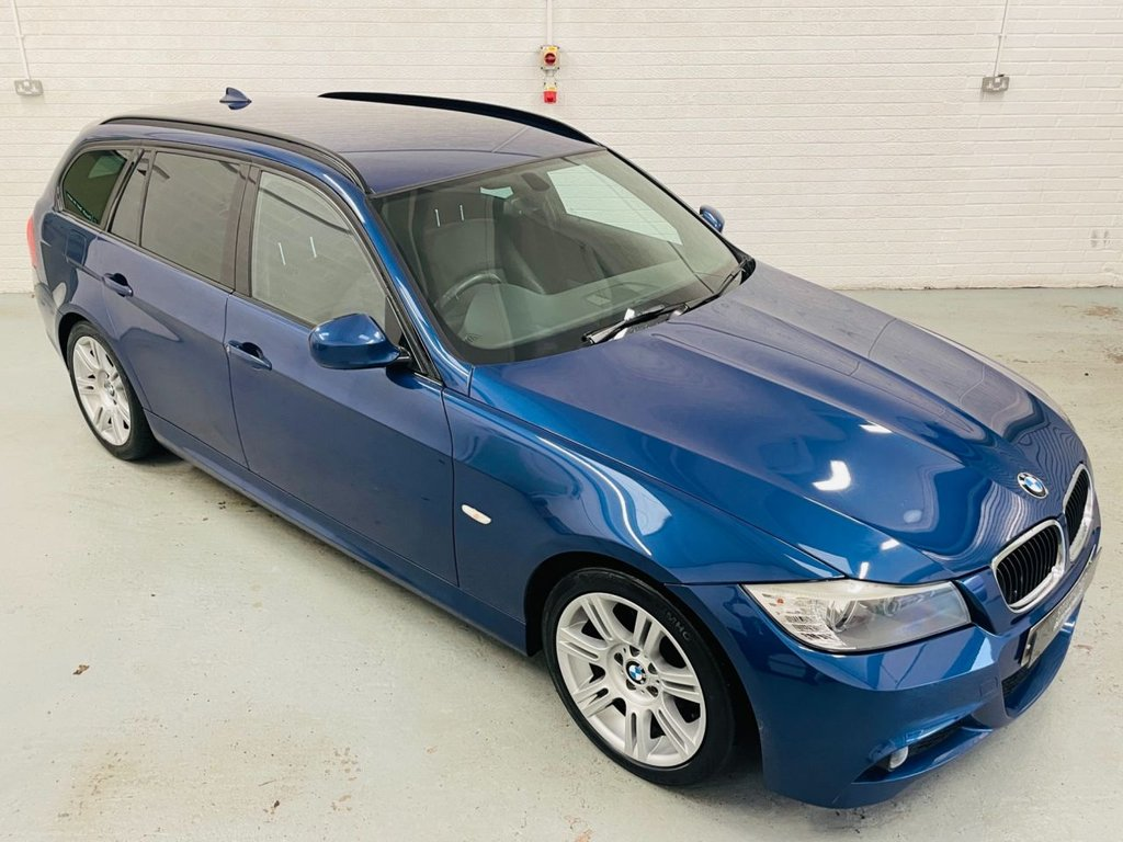 USED 2011 11 BMW 3 SERIES 2.0 320D M SPORT TOURING 5d 181 BHP AUTO, LEATHER INTERIOR, CRUISE, PDC, FINANCE AVAILABLE