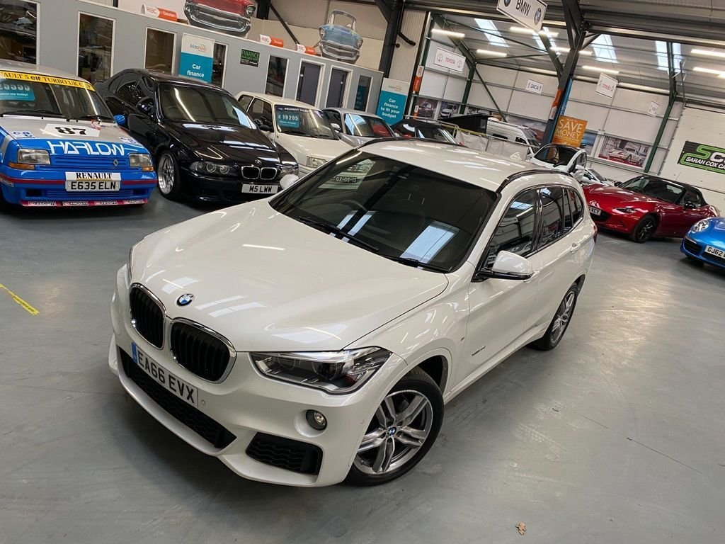 USED 2016 66 BMW X1 2.0 XDRIVE20I M SPORT 5d 189 BHP 1 Lady Owner