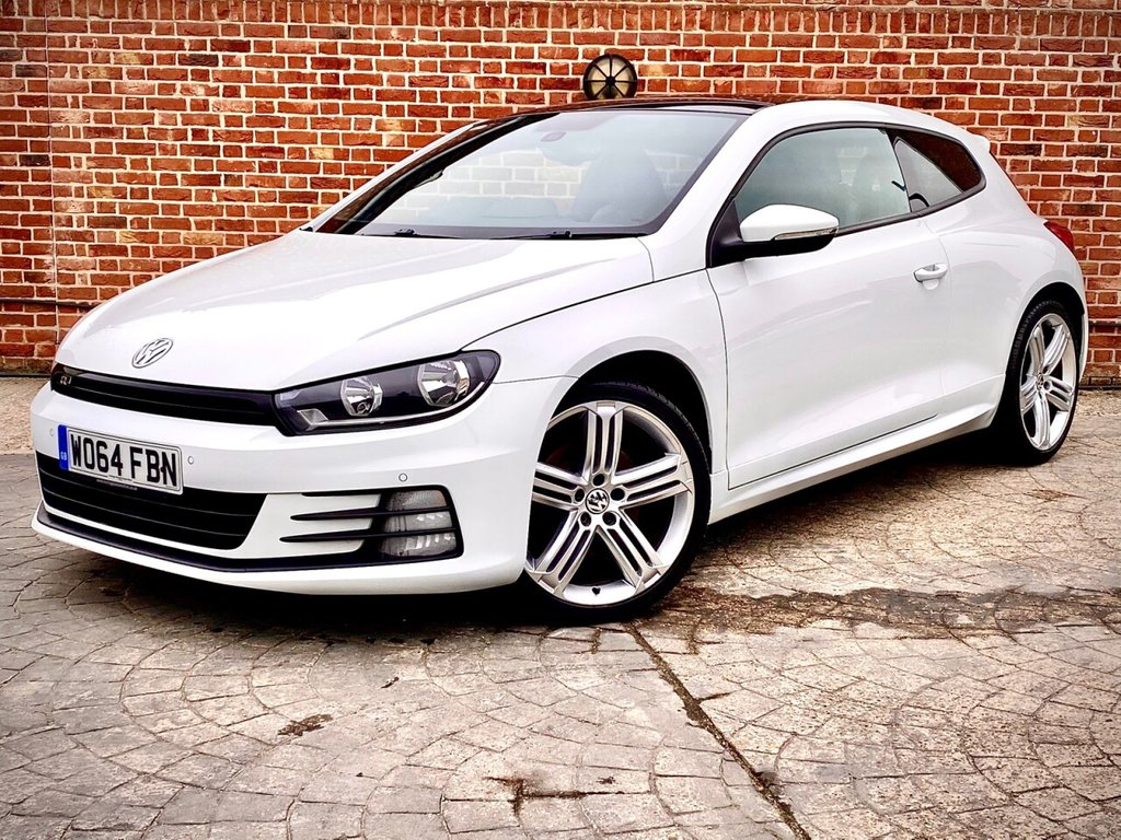 USED 2015 64 VOLKSWAGEN SCIROCCO 2.0 R LINE TDI BLUEMOTION TECHNOLOGY 2d 182 BHP