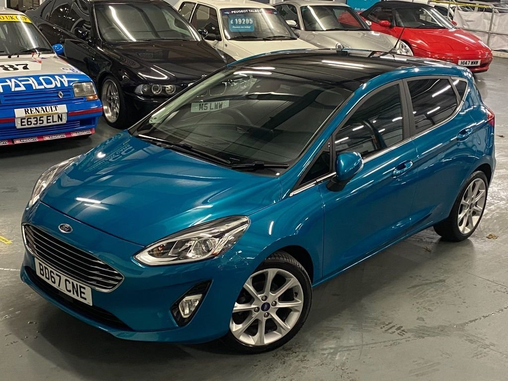 USED 2017 67 FORD FIESTA 1.0 TITANIUM 5d 99 BHP OPENING PAN ROOF+ CAMERA+1 OWN