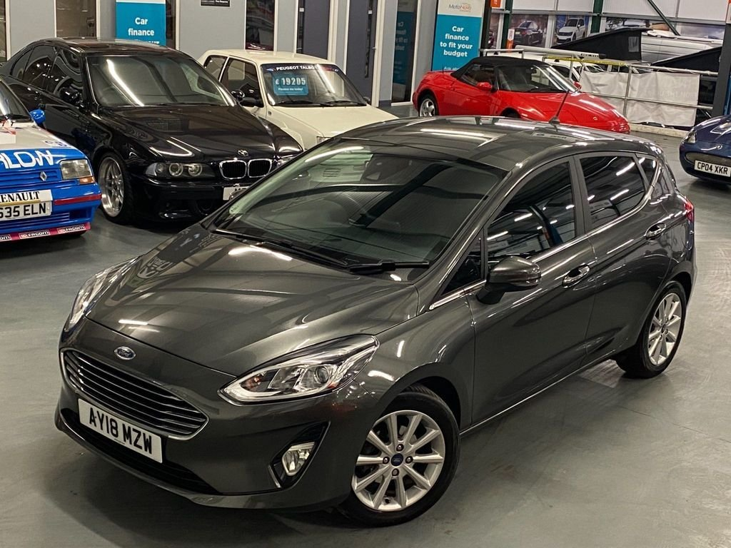 USED 2018 18 FORD FIESTA 1.0 TITANIUM 5d 124 BHP 1 Owner From New