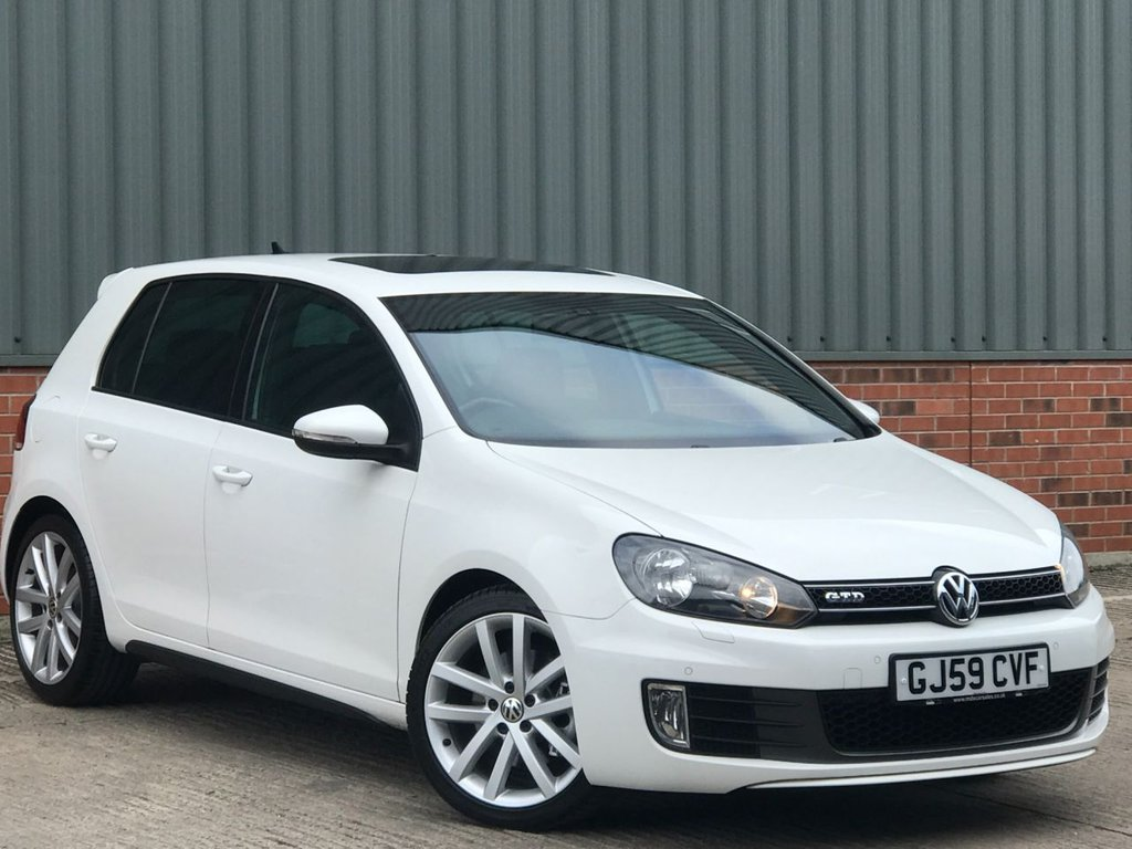 USED 2009 59 VOLKSWAGEN GOLF 2.0 GTD TDI DSG 5d 170 BHP MASSIVE SPECIFICATION- STUNNING GTD