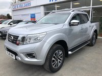 USED 2018 18 NISSAN NAVARA 2.3 DCI TEKNA 4X4 4dr 5 Seat Double Cab Pickup AUTO with Massive High Spec with Rear Load Liner Side Steps Sat Nav Heated Leather Seats and much more. Recent Service & MOT, 2 New Tyres & New Front Brakes. Now Ready to Finance & Drive Away.  1 Former Keeper