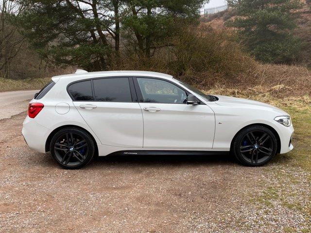 USED 2018 68 BMW 1 SERIES 1.5 118I M SPORT 5d 134 BHP SATNAV /FULL LEATHER