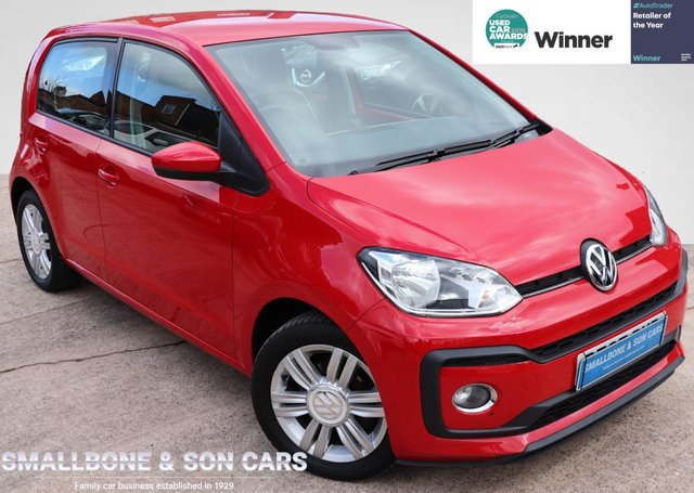 USED 2017 67 VOLKSWAGEN UP 1.0 HIGH UP TSI 5d 89 BHP * BUY ONLINE * FREE NATIONWIDE DELIVERY *