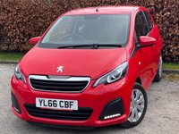 USED 2017 PEUGEOT 108 1.0 ACTIVE 3d 68 BHP * IDEAL FIRST CAR * BLUETOOTH MEDIA PLAYBACK *