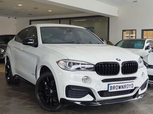 USED 2015 15 BMW X6 3.0 XDRIVE30D M SPORT 4d 255 BHP BM PERFORMANCE STYLING+6.9%APR