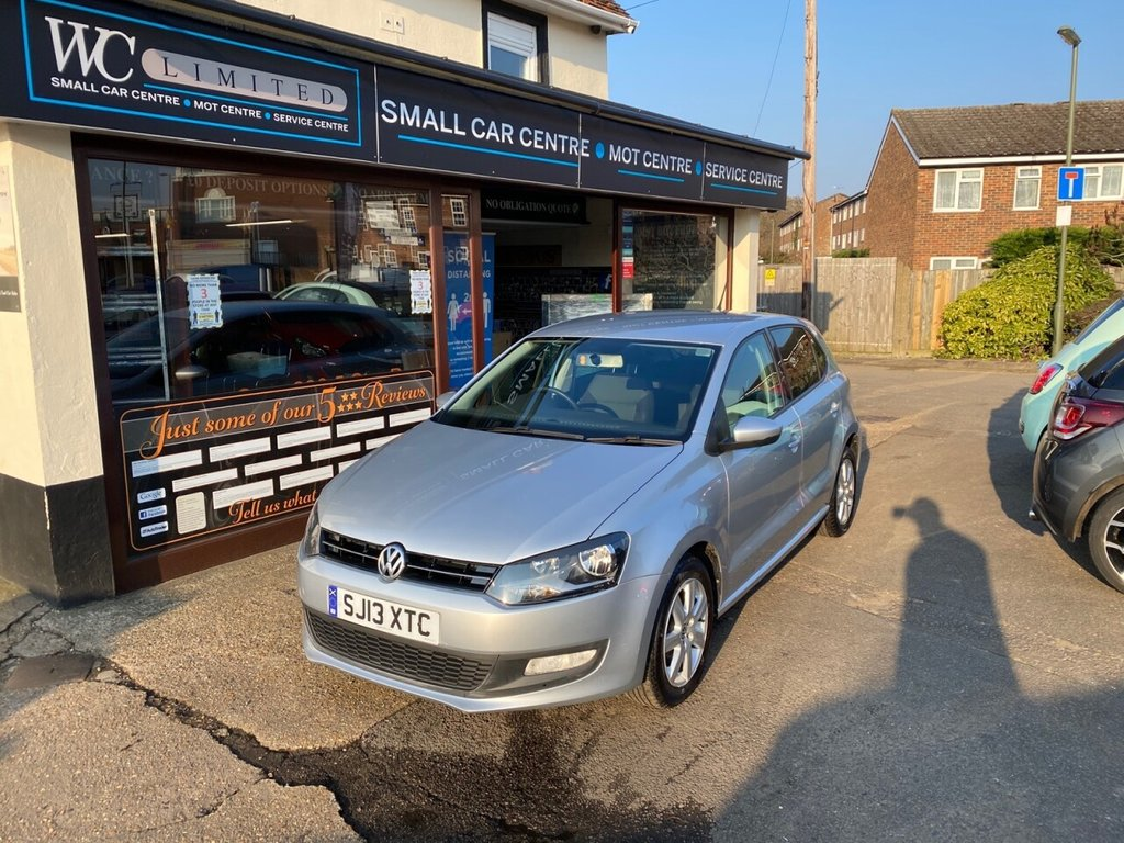 USED 2013 13 VOLKSWAGEN POLO 1.2 MATCH 5d 59 BHP BLUETOOTH - USB - AUX - AIRCON