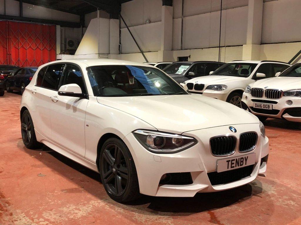 USED 2014 14 BMW 1 SERIES 2.0 118D M SPORT 5d 141 BHP