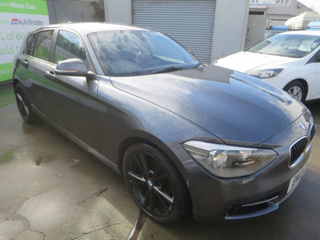 2012 12 BMW 1 SERIES 2.0 116D SPORT 5d 114 BHP
