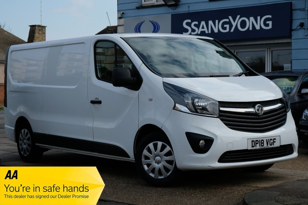 USED 2018 18 VAUXHALL VIVARO 1.6 L2H1 2900 SPORTIVE CDTI 120 BHP ULEZ COMPLIANT CONTACT US TODAY FOR A FINANCE QUOTE