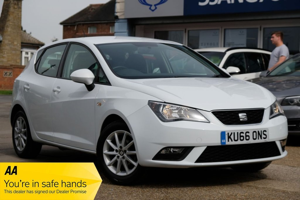 USED 2016 66 SEAT IBIZA 1.0 SE TECHNOLOGY 5d 74 BHP AVAILABLE FOR £145 PER MONTH £0 DEPOSIT