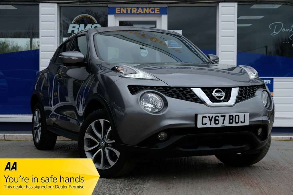 USED 2017 67 NISSAN JUKE 1.6 TEKNA XTRONIC 5d 117 BHP AVAILABLE FOR £209 PER MONTH £0 DEPOSIT