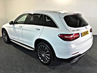 USED 2018 18 MERCEDES-BENZ GLC-CLASS 3.0 GLC 350 D 4MATIC AMG LINE PREMIUM PLUS 5d 255 BHP