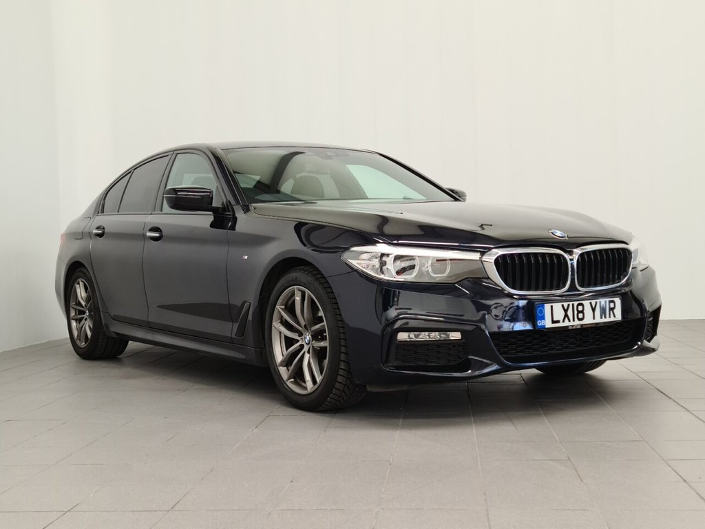 USED 2018 18 BMW 5 SERIES 2.0 520D M SPORT 4d 188 BHP Call us for Finance and Delivery