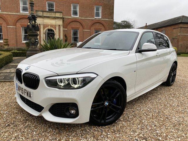 2019 19 BMW 1 SERIES 1.5L 118I M SPORT SHADOW EDITION 5d 134 BHP