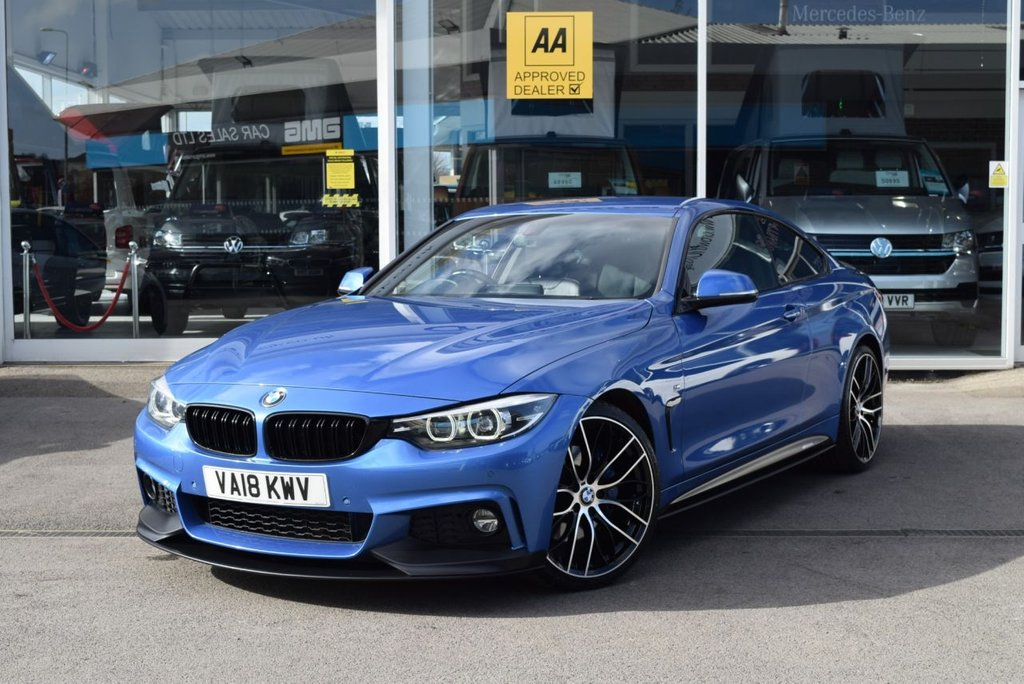 USED 2018 18 BMW 4 SERIES 2.0 420I M SPORT 2d 181 BHP FINANCE TODAY WITH NO DEPOSIT - SERVICE HISTORY