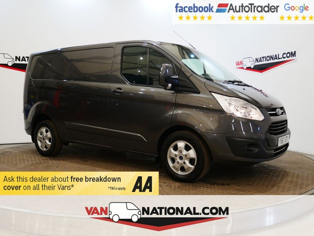 USED 2017 67 FORD TRANSIT CUSTOM 2.0 270 LIMITED LR P/V 130 BHP 130 SWB *EURO 6*AIR CON* * ONE OWNER * EURO 6 * AIR CON * ZERO DEPOSIT FINANCE AVAILABLE *