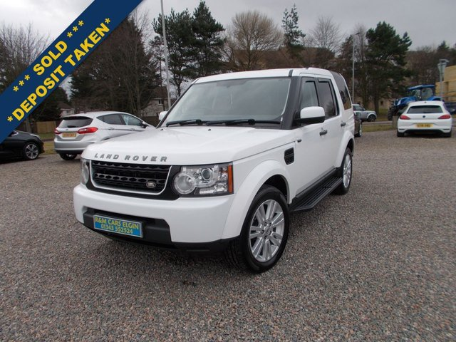 2013 63 LAND ROVER DISCOVERY 3.0 4 SDV6 GS 5d 255 BHP ( 7 SEATS )
