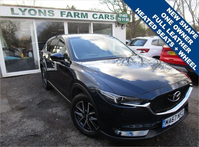 USED 2017 67 MAZDA CX-5 2.2 D SPORT NAV 5d 148 BHP AUTOMATIC NEW SHAPE One Owner, Just Serviced, MOT until October 2021, Automatic, Great fuel economy! Diesel