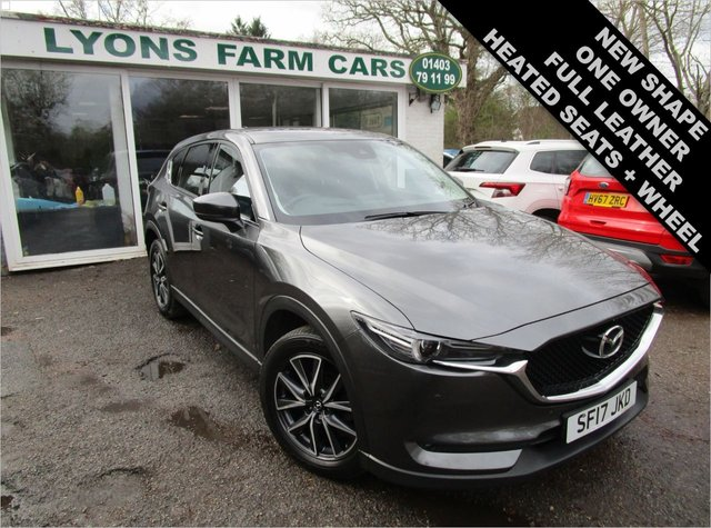 USED 2017 17 MAZDA CX-5 2.2 D SPORT NAV 5d 148 BHP NEW SHAPE One Owner, Just Serviced, NEW MOT, Great fuel economy! Diesel
