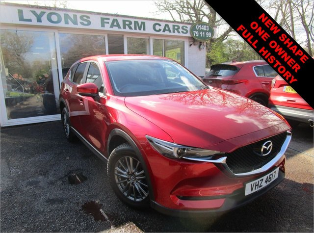 USED 2017 67 MAZDA CX-5 2.2 D SE-L NAV 5d 148 BHP NEW SHAPE Full Mazda Service History + Just Serviced, One Owner, MOT until March 2022, Great fuel economy! Diesel