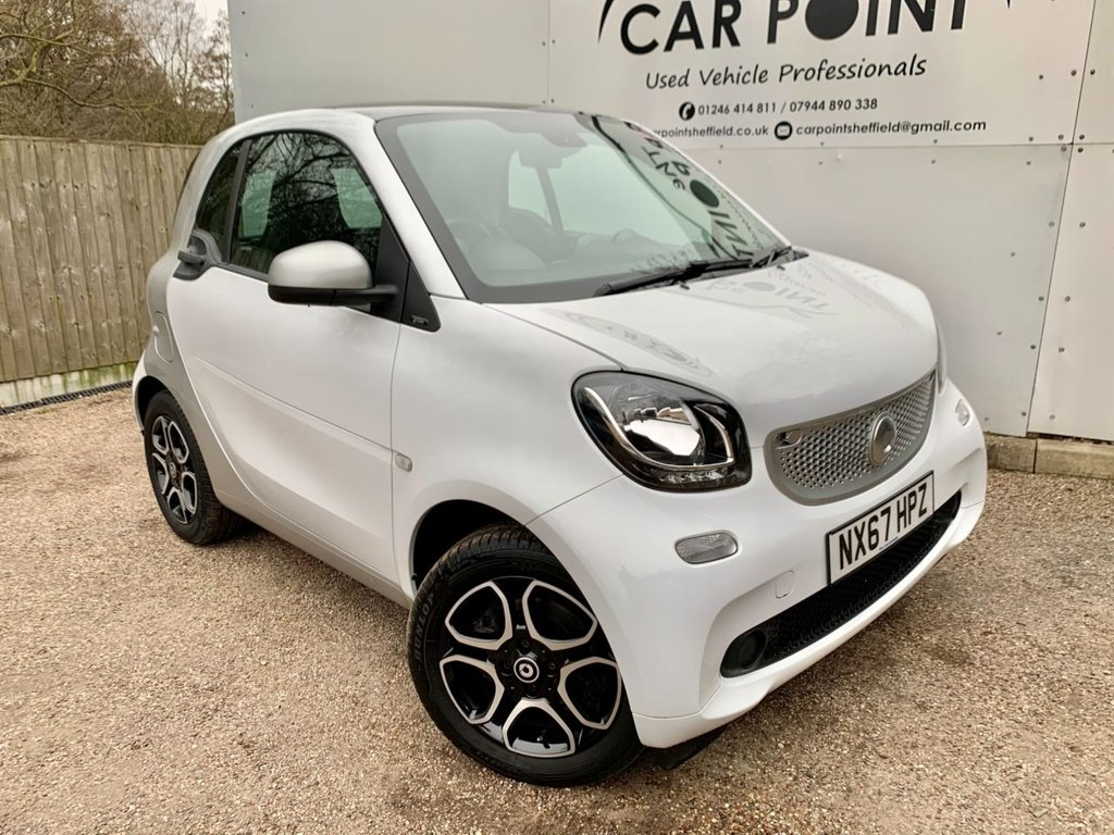 USED 2017 67 SMART FORTWO 1.0 PRIME 2d AUTO 71 BHP