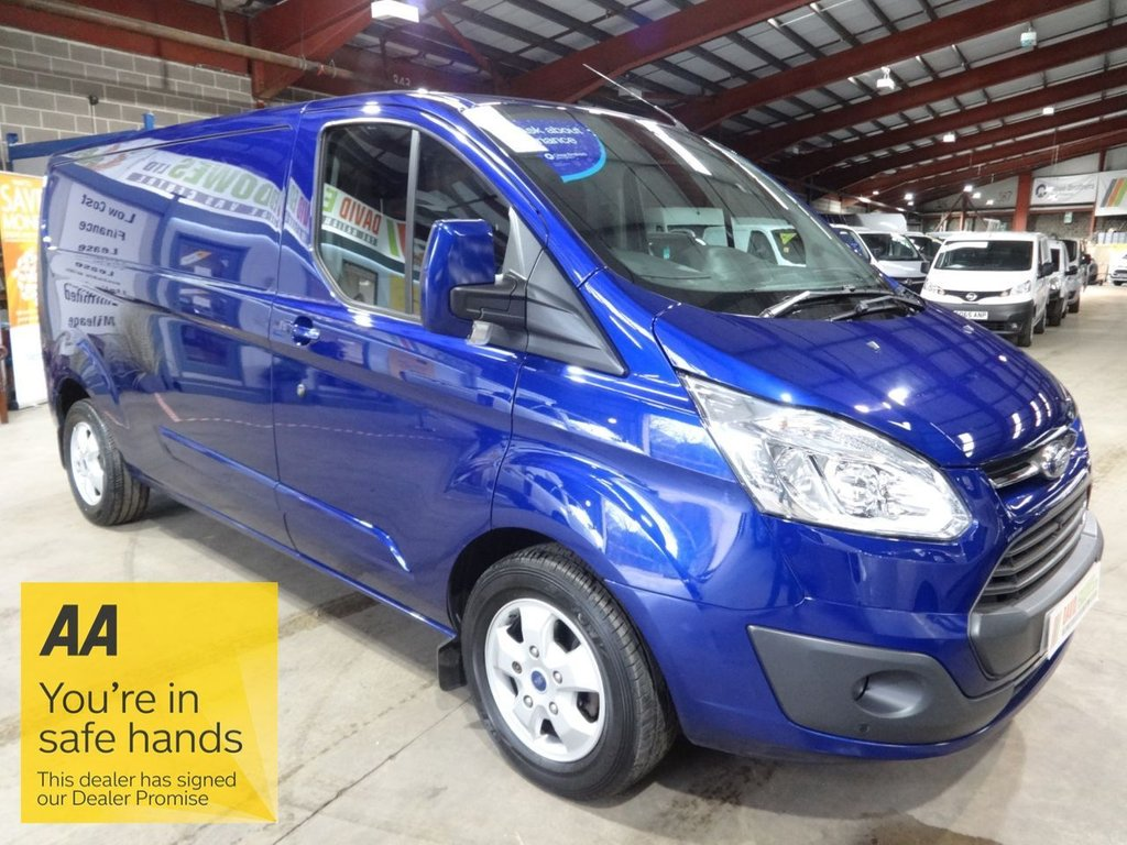 USED 2018 67 FORD TRANSIT CUSTOM 2.0 290 LIMITED LR P/V L2 170 BHP LWB VAN - AUTOMATIC - - AA DEALER PROMISE - TRADING STANDARDS APPROVED -