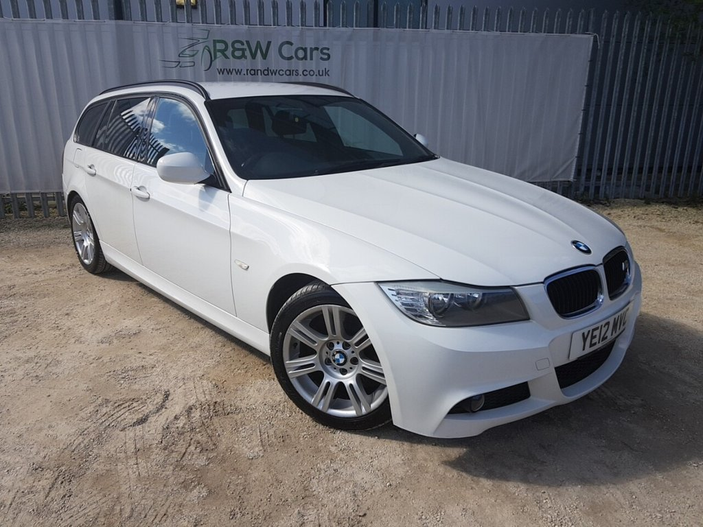 USED 2012 12 BMW 3 SERIES 2.0 320D M SPORT TOURING 5d 181 BHP