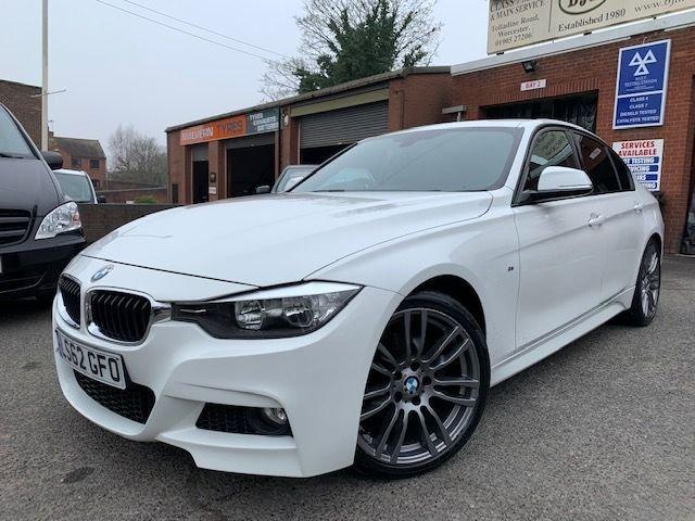 USED 2012 62 BMW 3 SERIES 2.0 320D M SPORT 4d 181 BHP
