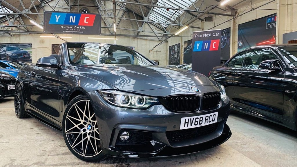 USED 2018 68 BMW 4 SERIES 2.0 420i GPF M Sport Auto (s/s) 2dr PERFORMANCEKIT+20S+FACELIFT