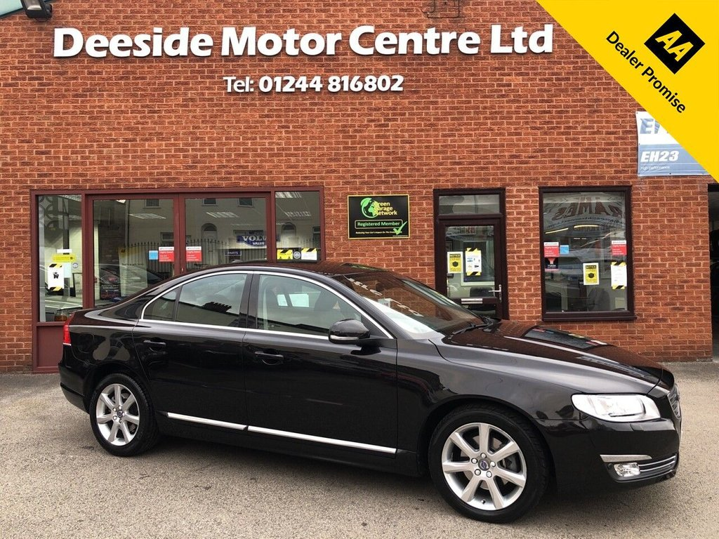 USED 2015 65 VOLVO S80 2.0 D4 SE LUX 4d 178 BHP FULL VOLVO SERVICE HISTORY