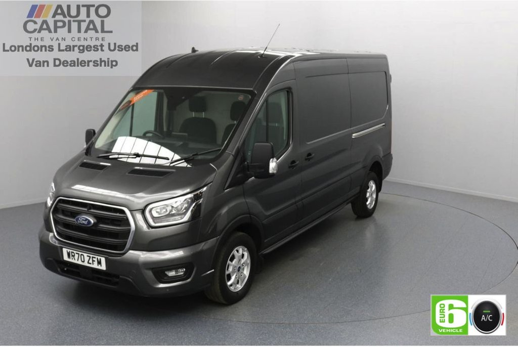 USED 2020 70 FORD TRANSIT 2.0 350 FWD Limited EcoBlue Auto 185 BHP L3 H2 Low Emission Sat Nav | Automatic Gearbox | Eco Mode | Auto Start-Stop | Front and rear parking distance sensors | Alloy wheels
