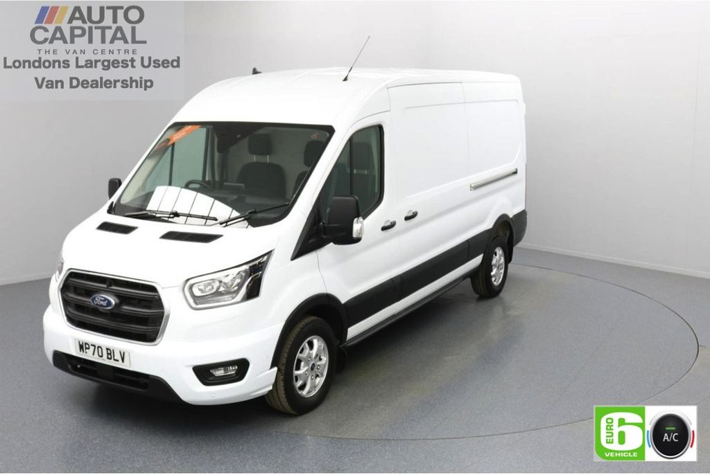 USED 2020 70 FORD TRANSIT 2.0 350 FWD Limited EcoBlue Auto 130 BHP L3 H2 Low Emission Automatic Gearbox | Eco Mode | Auto Start-Stop | Front and rear parking distance sensors | Alloy wheels
