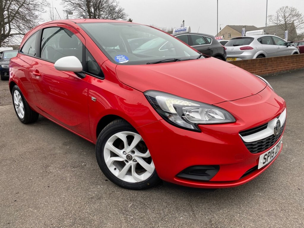 USED 2015 15 VAUXHALL CORSA 1.4 STING ECOFLEX 3d 89 BHP CLICK AND COLLECT-CALL 07989418093