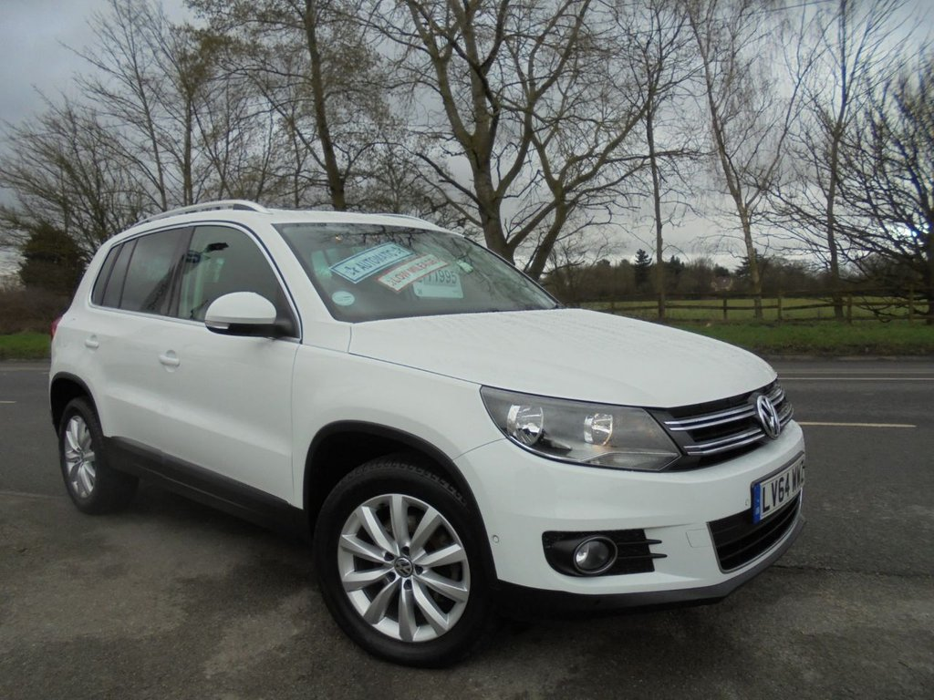 USED 2014 64 VOLKSWAGEN TIGUAN 2.0 MATCH TDI BLUEMOTION TECH 4MOTION DSG 5d 139 BHP