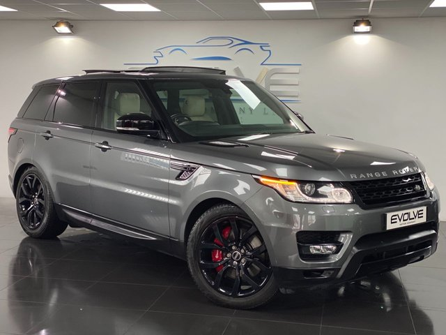 2014 64 LAND ROVER RANGE ROVER SPORT 4.4 AUTOBIOGRAPHY DYNAMIC 5d 339 BHP