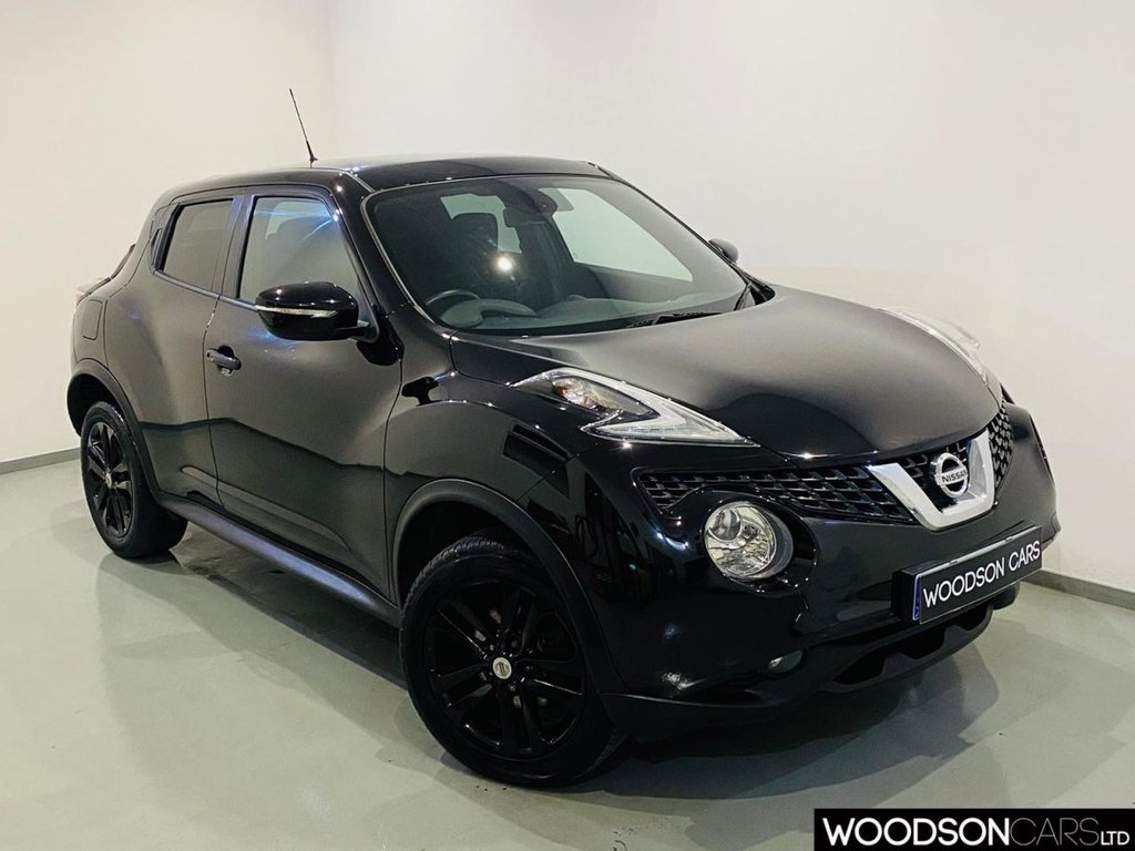USED 2016 16 NISSAN JUKE 1.2 N-CONNECTA DIG-T 5d 115 BHP Sat Nav / Bluetooth / Isofix / Privacy Glass