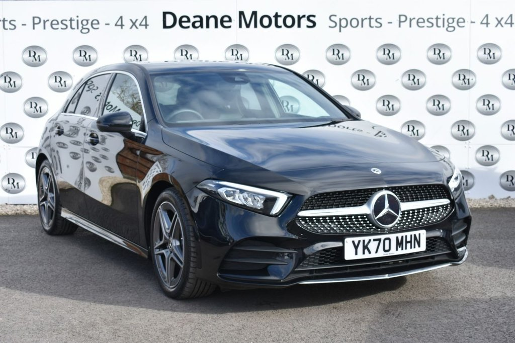 USED 2020 70 MERCEDES-BENZ A-CLASS 1.3 A 180 AMG LINE 5d 135 BHP
